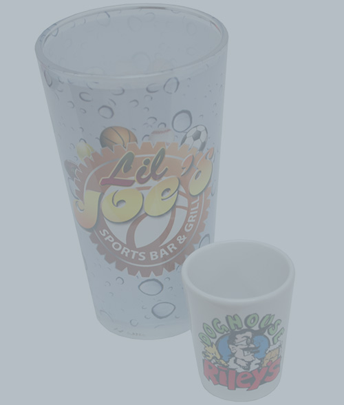 Pint Glass & Shot Glass