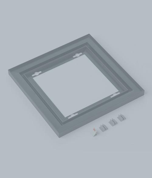Pre-Assembled Metal Frames