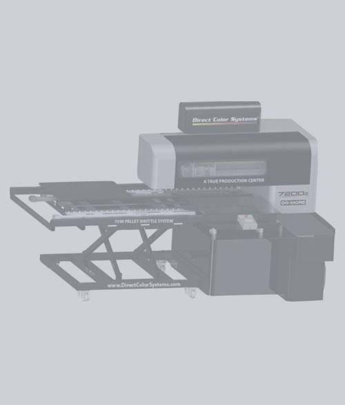DCS 7200Z UV-LED Printer