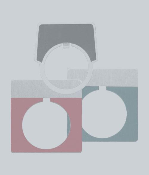 Push Button Plates
