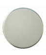 """LaserFrost Silver 2"""" Circle with Adhesive"""