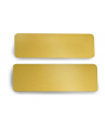Satin Gold Brass Badge Blank