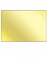 Bright Gold Brass Sheet