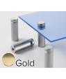 "Rowmark Metro Gold Stand-Offs (.59"" Diameter 1.57"" Barrel Length)"