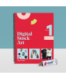 Stock Art Collection Printed Books w/USB