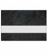 "IPI Gemstones Gloss Clear/Black Opal 1/16"" Reverse Engraving Plastic"