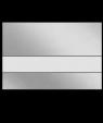 "IPI LazerMirr Gloss Clear/Silver Mirror 1/32"" Reverse Engraving Plastic"