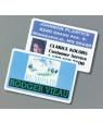 "IPI White 2.5"" x 3.7"" .060"" Print Receptive Blank PVC Card"