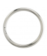 "Nickel Plated Split Key Ring 1"""