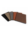 """Saddle Collection 7"""" x 9"""" Laserable Leather-Like Notebook"""