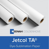 Jetcol Thermal Adhesive (TA) Sublimation Paper Roll 105 GSM