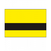 "Rowmark Mattes Yellow/Black 1/32"" Engraving Plastic"