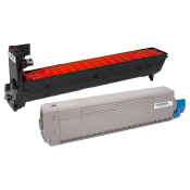 OKI® Pro8432WT Black Toner & Drum Kit