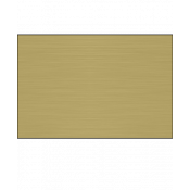 "AlumaMark Satin Brass .020"" Aluminum Sheet"