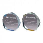 Acrylic Octagon Bevel Impress Award