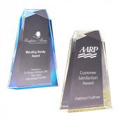 Acrylic Wedge Facet Award