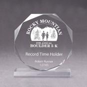Acrylic Octagon Award