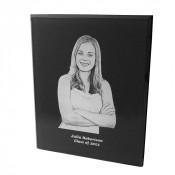 Black Acrylic Photo Plaque