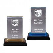 Acrylic Beveled Impress Award