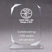 Rectangular Diamond Acrylic Award