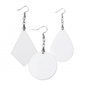 Hardboard Sublimation Earrings