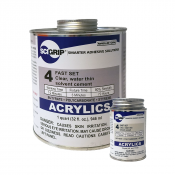 Weld-On/SCIGrip #4 Liquid Solvent for Bonding Acrylics