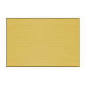 Satin Gold Long Grain .016 Brass Sheet