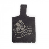 "11.02"" x 9.06"" Wine Bottle Slate Table Mat"
