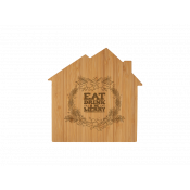 House Shaped Bamboo Cutting Boards