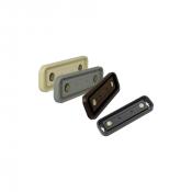 "Rowmark Portico 2"" x 8"" Round Plastic Frame"