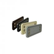 "Rowmark Portico 3"" x 10"" Round Plastic Frame"