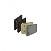 "Rowmark Portico 4"" x 8"" Round Plastic Frame"
