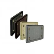 "Rowmark Portico 6"" x 12"" Round Plastic Frame"