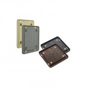 "Rowmark Portico 8"" x 8"" Round Plastic Frame"