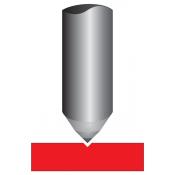 "Antares 1/8"" x 1-1/8"" Diamond Graver for Scott Non-Rotating Pantograph"