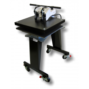 GeoKnight Jumbo Digital Swinger DK25S Swing-Away Heat Press with Stand