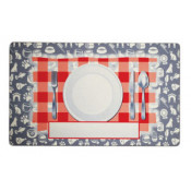 "12"" x 20"" Pre-Printed Pet Mat (Dinner Plate)"