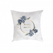 """Double-Sided Plush Pillow Cover 15.7"""" x 15.7"""""""
