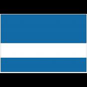 Rowmark DurMark Blue/White Engraving Plastic