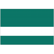 Rowmark DurMark Pine Green/White Engraving Plastic