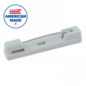 Plastic Safety Pinback Economy Badge Finding