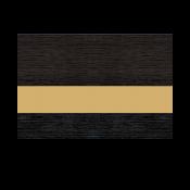 """Rowmark FlexiBrass Brushed Black/Brass .020"""" Engraving Plastic"""