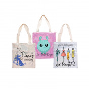 """Polyester Shimmer Tote Bag 13.4"""" x 14.6"""""""