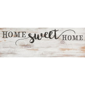 "Pre-Printed 5.5"" x 15.75"" Home Sweet Home Sign"