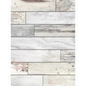 """White 12"""" x 16"""" Faux Wood Plaque"""