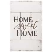 "Pre-Printed 10.5"" x 17"" Home Sweet Home Rectangle Sign"