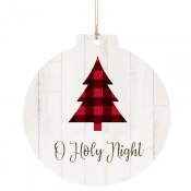 Buffalo Plaid Tree Ornament
