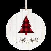 Buffalo Plaid Tree Ornament