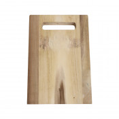 Solid Acacia Cutting Board with Carry Handle