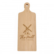 Solid Maple Cutting Board with Handle